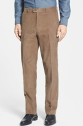 Linea Naturale Washed Corduroy Relaxed Fit Pants Beige