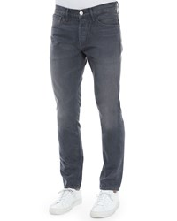 3 X 1 M3 Brolin Slim Straight Denim Jeans Dark Gray