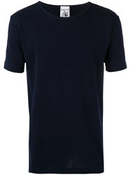 S.N.S. Herning Imitation T Shirt Men Cotton Polyester L Blue