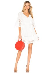 Spell And The Gypsy Collective Abigail Lace Mini Dress White