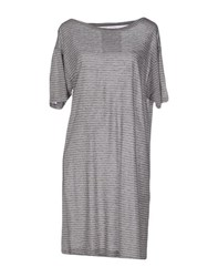Vintage 55 Dresses Short Dresses Women Light Grey