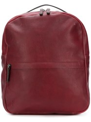 Ally Capellino Classic Backpack Red