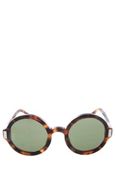 The Row Round Acetate Sunglasses