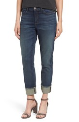 Nydj Women's 'Marnie' Stretch Cuffed Boyfriend Jeans Oak Hill