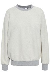 Frame French Cotton Terry Sweatshirt Stone