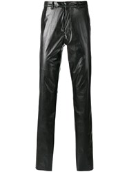 Raf Simons Straight Leg Trousers Black