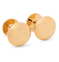 Alice Made This James Gold Plated Cufflinks Gold