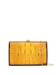 Rocio Milla Crocodile Effect Clutch Bag 60