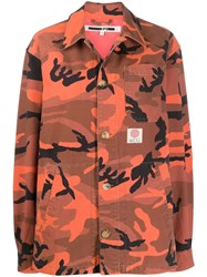 Mcq By Alexander Mcqueen Camouflage Print Jacket 60