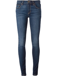 Marc By Marc Jacobs Stone Washed Skinny Fit Jeans Blue