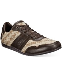 Guess Triston Sneakers Men's Shoes Brown Tan