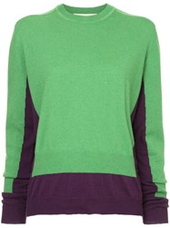 Marni Loose Fitted Sweater Green