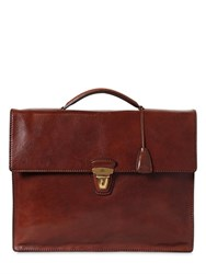 The Bridge Slim Leather Briefcase