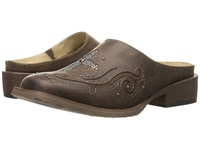 Roper Mule Cross Brown Women's Slip On Shoes