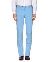 Pt01 Trousers Casual Trousers Men Sky Blue