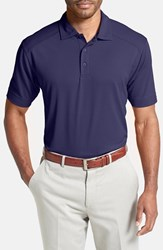 Men's Cutter And Buck 'Genre' Drytec Moisture Wicking Polo College Purple