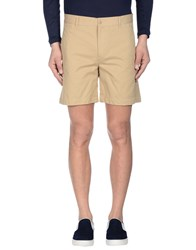 Maison Kitsune Trousers Bermuda Shorts Men Beige