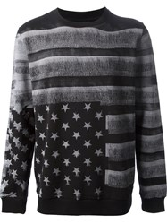 Givenchy American Flag Sweater Black