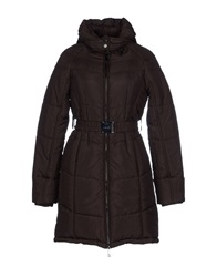 Gaudi' Coats Dark Brown