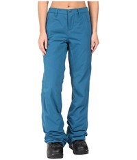 Burton Aero Pants Jaded Women's Casual Pants Blue