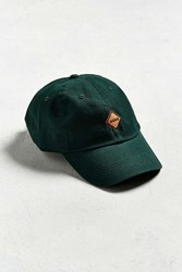 Urban Outfitters Uo Dead Sign Baseball Hat Dark Green