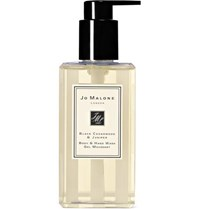 Jo Malone Black Cedarwood And Juniper Body And Hand Wash 250Ml Colorless