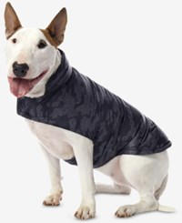 32 Degrees Reversible Down Puffer Coat For Dogs Grey Camo