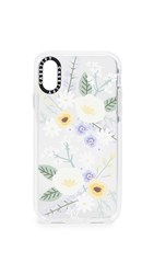 Casetify Soft Floral Veronica Violet Iphone X Xs Case Multi