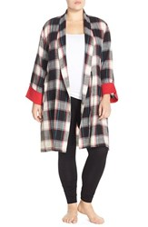 Plus Size Women's Lucky Brand Flannel Robe