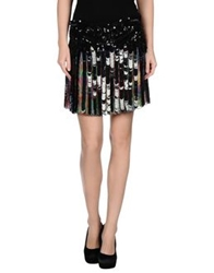 Roberto Cavalli Mini Skirts Light Green