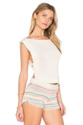 Goddis Tula Sleeveless Sweater Ivory