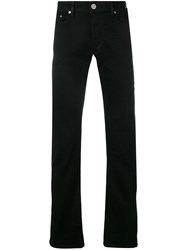 Versace Jeans Slim Fit Trousers Black