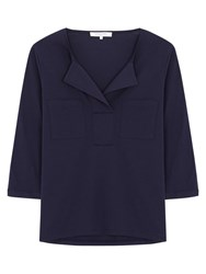 Gerard Darel Talia T Shirt Navy Blue