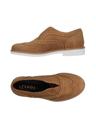 L'f Shoes Loafers Camel