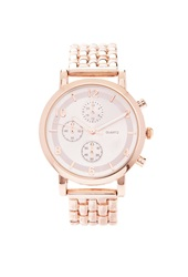 Forever 21 Chronograph Analog Watch Rose Gold