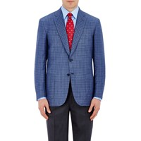 Brioni Colosse Two Button Jacket Blue Royal