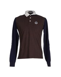 North Sails Topwear Polo Shirts Men Cocoa