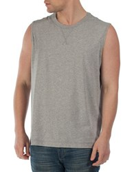 Bench Cotton Muscle Tank Top Grey
