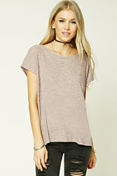 Forever 21 Boxy Marled Knit Top