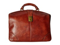 Bosca Dolce Collection Soft Partners Brief Amber Briefcase Bags Bronze