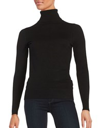 Context Long Sleeve Turtleneck Sweater Black