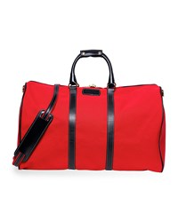 T. Anthony Classic Canvas Duffel Bag Red