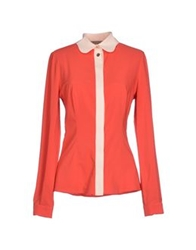 Betty Blue Shirts Coral