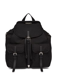 Prada Logo Plaque Backpack 60