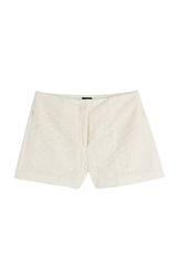 Joseph Embroidered Tulle Shorts