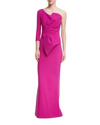 La Petite Robe Di Chiara Boni Anemone One Shoulder Mermaid Gown Erica Multi