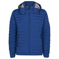 Aquascutum London Emmett Showerproof Quilted Jacket Bright Blue