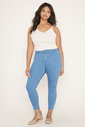Forever 21 Plus Size Jeggings Short