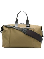 Troubadour Top Handle Canvas Bag Green
