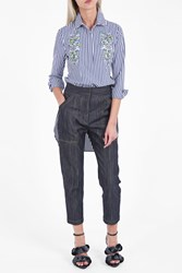 Adam By Adam Lippes Women S Cropped Denim Trousers Boutique1 Blue
